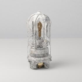 Saks Afridi, Artifact - Prayer Capsule, 2019, C-print on archival paper, 36 x 24 in