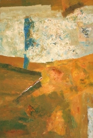 Ram Kumar UNTITLED ABSTRACT 3 2005 Oil on canvas 36 x 24 in.