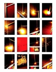 Rathin Kanji STOP THIS 2009 Mixed media installation 60 x 75 x 12 in.