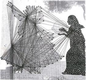 Hasnat Mahmood KRISHNA AND RADHA 2009 Digital print on paper, Edition of 3 32.5 x 30 in.
