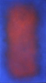 Natvar Bhavsar UMREE 2008 Oil on canvas 40 x 22.75 in.
