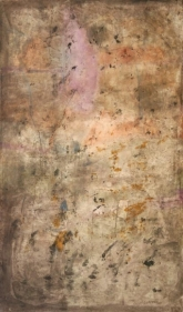 Yogendra Tripathi UNTITLED 4 2007 Acrylic on canvas 60 x 35 in.