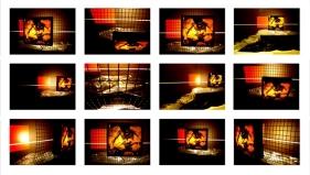 Rathin Kanji UNFOLD THE TRUTH 2009 Mixed media installation 84 x 48 x 36 in.