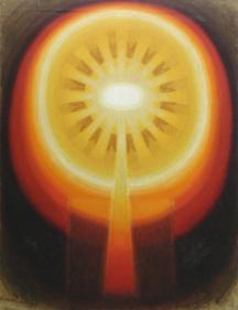 Biren De UNTITLED (SEPT 73) 1973 Oil on canvas 50 x 40 in.