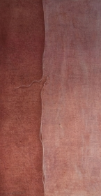 Sumaira Tazeen BAKHIYE II (RUNNING STITCHES) 2008 Opaque water based pigment on wasli 11.5 x 6 in.