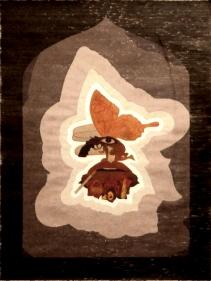 Avishek Sen, Untitled 2, 2010, Water based medium on paper, 55 x 41 in