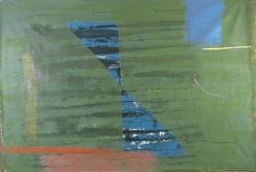 Harsha Vardhana UNTITLED 13 2006 Mixed media on canvas 48 x 72 in.