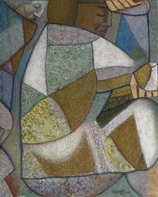 Neeraj Goswami NOSTALGIA 2007 Oil on canvas 20 x 16 in.  SOLD