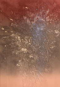 Nitin Mukul  Blizzard 2, 2018  Unique viscosity monoprint  11 x 15 in