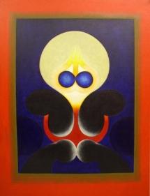 G. R. Santosh UNTITLED 77 1973 Oil on canvas 50 x 40 in