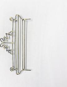Najmun Nahar Keya  Yume-no-sen (14)  2019  Gas welded brass and gold leaf on Japanese paper, wood, archival glue  12 x 9.40 in