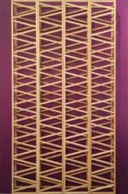 Rasheed Araeen, Untitled (Purple) 1971 (2016) Wood and paint 72 x 48 x 6 in.