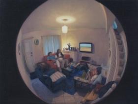 Abir Karmakar  View V, 2015  Oil on canvas  18h x 24w in