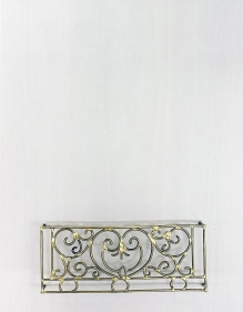 Najmun Nahar Keya  Yume-no-sen (3)  2019  Gas welded brass and gold leaf on Japanese paper, wood, archival glue  16 x 11.50 in