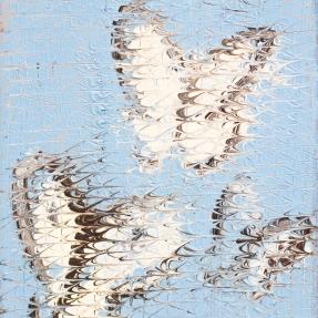 Hunt Slonem butterflies, Hunt Slonem art for sale at Manolis Projects