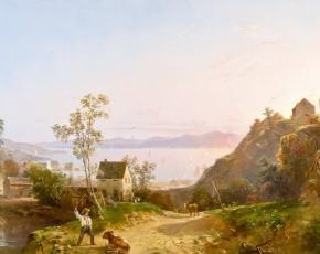 Artist Régis François Gignoux 1816-1882.