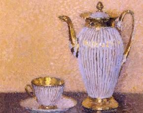 Artist Henri Martin 1860-1943.