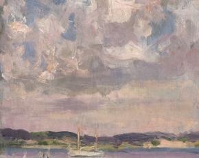 Artist Irving Wiles 1861-1948.
