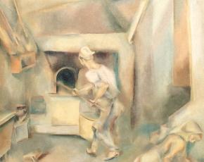 Artist John Barber 1898-1965.
