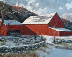 Artist Eric Sloane 1905-1985.