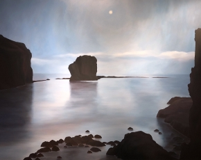 Artist April Gornik born 1953.