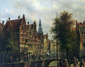 Artist Johannes Franciscus Spohler 1853-1894.