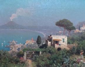 Artist Edmund Berninger 1843-1929.