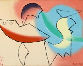 Artist Charles Joseph Biederman 1906-2004.