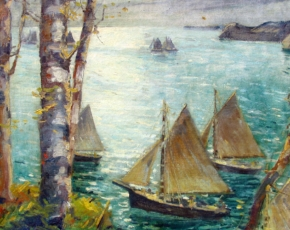 Artist Jonas Lie 1880-1940.