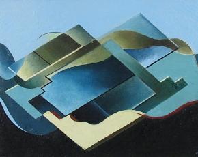Artist Frederick Kann 1886-1965.