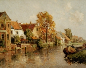 Artist Johannes Delfgaauw 1882-1947.