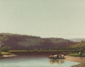 Artist Lemuel Maynard Wiles 1826-1905.