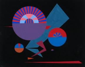 Artist Ed Garman 1914-2004.