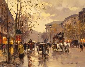 Artist Edouardo L. Cortes 1882-1969.