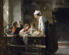 Artist Paul Seignac 1826-1904.