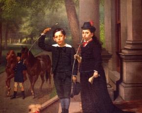 Artist John George Brown 1831-1913.