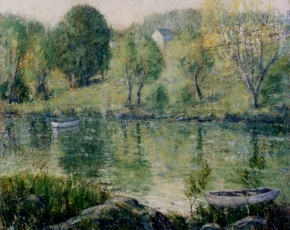 Artist Ernest Lawson 1873-1939.