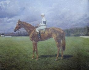 Artist Auguste Bressin.