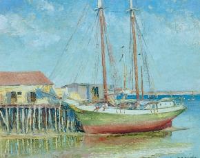 Artist Gerrit Beneker 1882-1934.