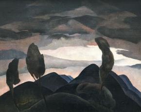Artist William S. Schwartz 1896-1977.