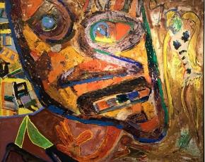 Artist George McNeil 1908-1995.