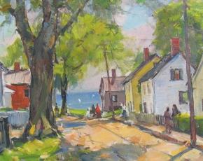 Artist Carl William Peters 1897-1980.