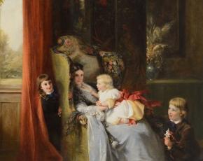 Artist George Bernard O'Neill 1828-1917.