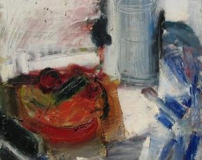 Artist Grace Hartigan 1922-2008.