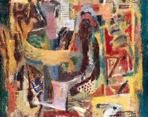 Artist Ary Stillman 1891-1967.