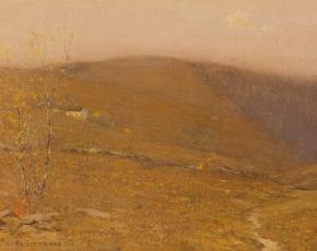 Artist Bruce Crane 1857-1937.