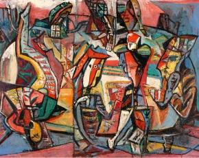 Artist Paul Burlin 1886-1969.