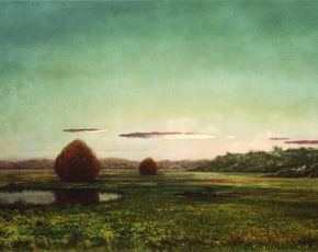 Artist Martin Heade 1819-1904.