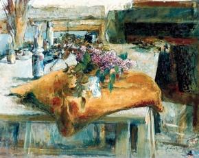 Artist Pierre Roussel 1927-1995.