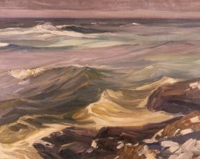 Artist Charles Herbert Woodbury 1864-1940.